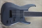 Jackson USA Custom Shop Soloist 8 String Gun Metal Grey Guitar