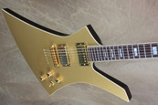 Jackson USA Custom Shop Flat Top Gold Top Kelly Electric Guitar
