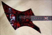 Jackson Custom Shop USA KE2 Kelly 7 String Samurai NAMM 2013 Guitar
