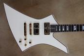 Jackson USA Custom Shop Flat Top Ivory Kelly KE2T Guitar