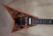 Jackson USA Custom Shop 2011 NAMM Carved Mahogany Randy Rhoads Electric Guitar