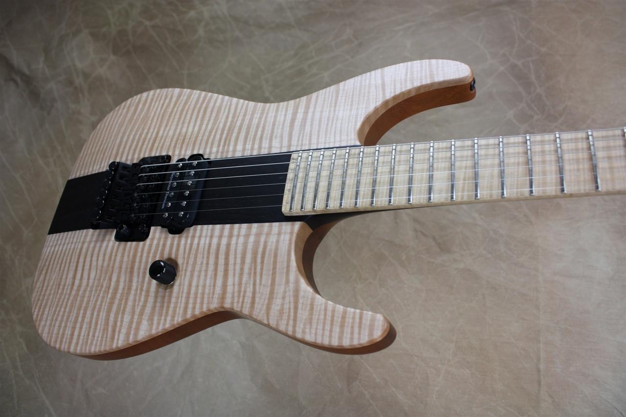 jackson usa custom shop koa ebony arch top soloist electric guitar cmc custom metal classic. Black Bedroom Furniture Sets. Home Design Ideas