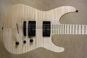 Jackson USA Custom Shop Soloist SL2HT Natural Oil Finish Guitar
