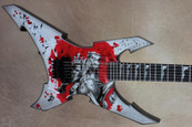 Jackson USA Custom Shop 2011 NAMM Extreme Warrior Samurai Anime Electric Guitar