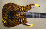 Jackson Custom Shop USA Aztec Soloist 7 String Guitar