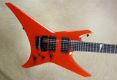 Jackson USA Custom Shop Select WR1 Warrior Tennessee Orange Guitar