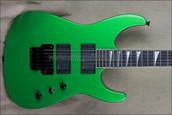 Jackson USA Select Series DK1 Dinky Absinthe Frost Green Guitar