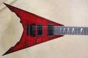 Jackson USA Corey Beaulieu Signature KV 6 King V Trans Red Guitar