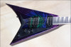 Jackson USA Select Series RR1T Randy Rhoads Eerie Dess Swirl Electric Guitar