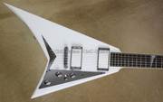 Jackson USA Custom Shop Select RR1T Randy Rhoads Whiteout Guitar