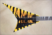 Jackson USA Select Series RR1T Randy Rhoads Yellow Bengal Electric Guitar