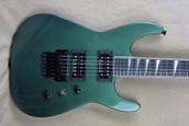 Jackson USA Select Series Jackson SL2H Soloist Darby Green Guitar