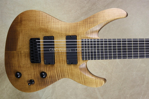 Jackson USA B8MG Deluxe Soloist 8 String Walnut Stain Guitar