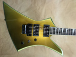 Jackson USA Select Series KE2 Kelly Acapulco Gold Electric Guitar