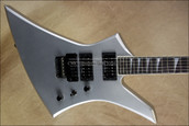 Jackson USA Select Series KE2 Kelly Quicksilver Electric Guitar