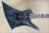 Jackson USA Select Series KE2 Kelly Silver Swirl Guitar