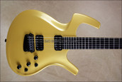 Parker USA Fly Deluxe Pearl Yellow NAMM 2013 Guitar