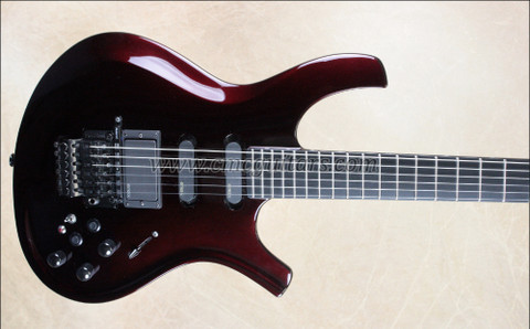 Parker USA DragonFly DF842VR Vernon Reid Signature Model Black Cherry Guitar