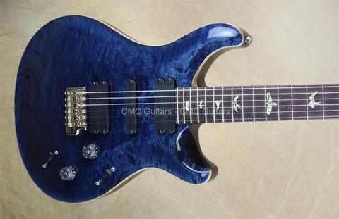 PRS Paul Reed Smith 513 Rosewood Neck Quilt Top Whale Blue Guitar