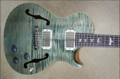 PRS Paul Reed Smith Single Cut Hollowbody II Trampas Green Guitar