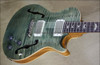 PRS Paul Reed Smith Single Cut Hollowbody II Trampas Green Guitar