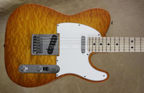 Fender Custom Shop NAMM 2014 Tele Deluxe Telecaster Faded Honey Burst Satin Guitar