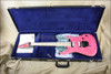 McNaught DJ+ Series Cotton Candy Diamond Quilt Top Electric Guitar