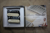 Bare Knuckle Aftermath Humbucker Pickups - Calibrated Zebra Open Set