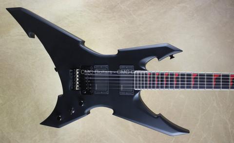 Jackson USA Custom Shop Masterbuilt Extreme WR1 Warrior Satin Black Guitar