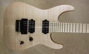 Jackson USA Custom Shop SL2H Ebony Neck Koa Arch Top Soloist Guitar