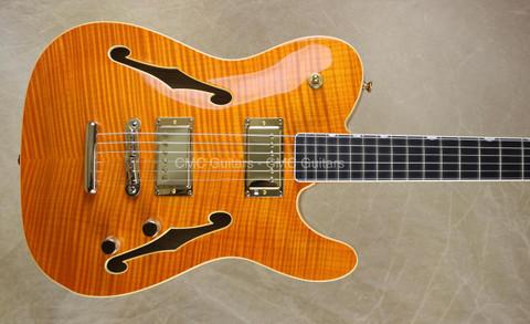 Fender Custom Shop Masterbuilt NAMM 2014 Archtop Tele Telecaster Tennessee Orange Guitar