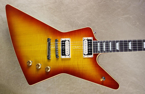 Gibson 2013 Custom Shop 58 Figured Explorer Cherry Burst Guitar