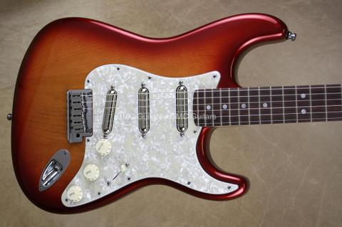 Fender American Stratocaster FSR Prototype Strat Lipstick Pickup Metallic Burst Guitar