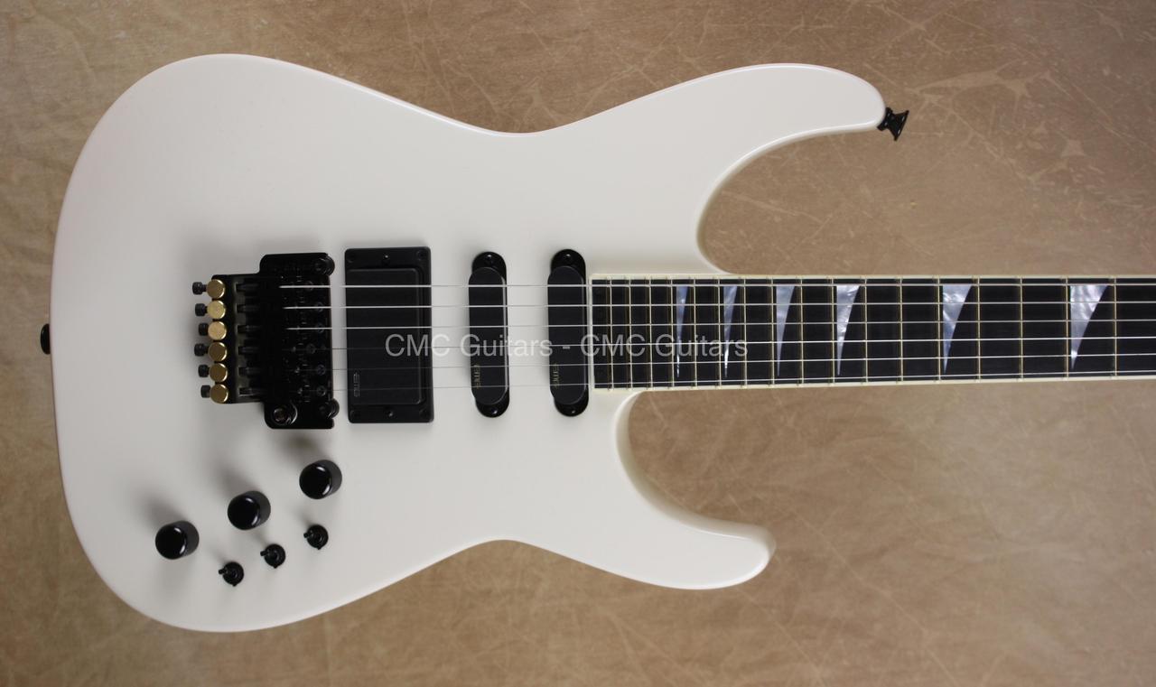 Jackson USA Custom Shop 30th Anniversary SL1 Soloist Ivory Guitar