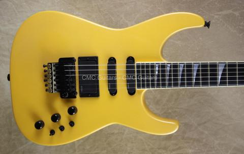Jackson USA Custom Shop 30th Anniversary SL1 Soloist Yellow Guitar