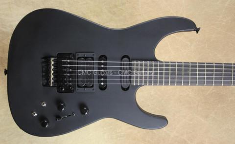 Jackson USA Custom Shop Limited PC1 Ebony Stealth Satin Black Guitar