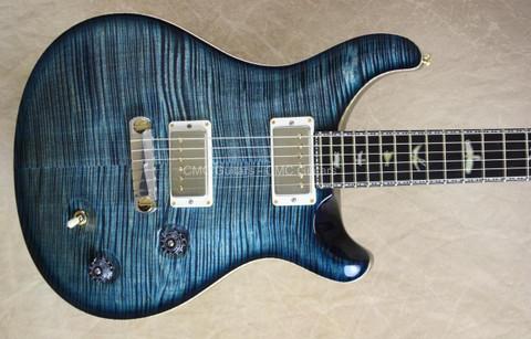 PRS Paul Reed Smith Private Stock Violin II Blue Steel Smoke Burst Guitar