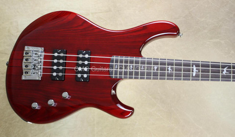 Paul Reed Smith PRS SE Kingfisher Bass Guitar Scarlet Red