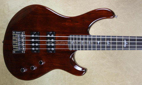 Paul Reed Smith PRS SE Kingfisher Bass Guitar Tortoise Shell