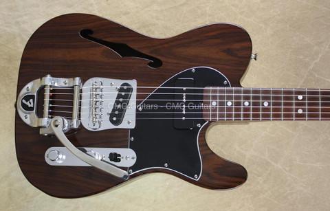 Fender Custom Shop Telecaster Masterbuilt Yuriy Shishkov Rosewood Tele NAMM Guitar