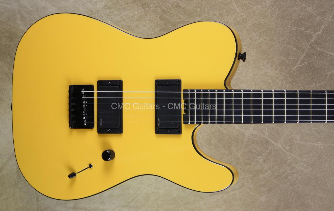 Charvel Usa Custom Shop Namm Tl2ht Pats Tool Box Yellow Guitar Cmc Schaller 3way Switch Wiring