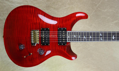 PRS Paul Reed Smith 30th Anniversary Custom 24 Scarlet Red Guitar
