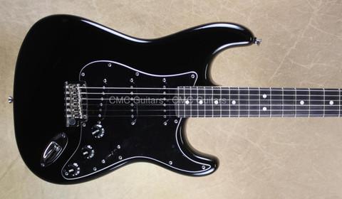 Fender Limited Edition 10 for '15 American Standard Strat Blackout Stratocaster