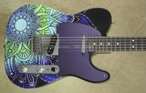 Fender Custom Shop Telecaster Masterbuilt Greg Fessler Tele Madison Roy Moonlight's Garden Guitar