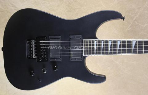 Jackson USA Custom Shop SL2H Soloist Satin Black Guitar