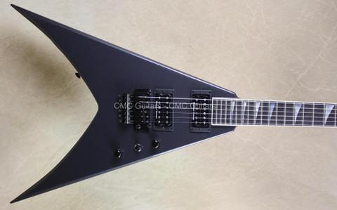 Jackson USA Custom Shop Double Rhoads King V Gun Metal Grey Guitar