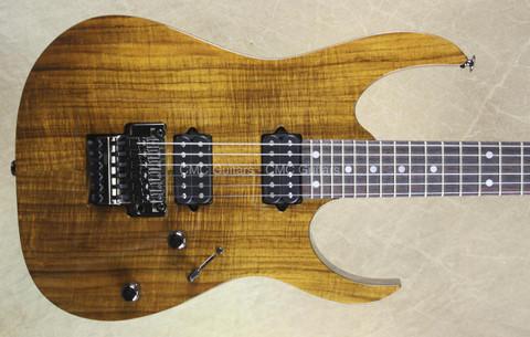 Ibanez RG652K KB 2015 Prestige Koa Brown Guitar