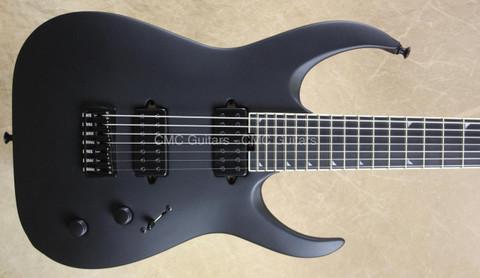 Jackson USA Misha Mansoor Juggernaut HT7 Matte Black 7 String Guitar