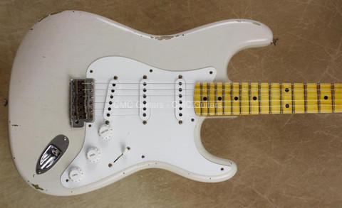Fender Custom Shop LTD '55 Strat Relic Stratocaster Dirty White Blonde Guitar