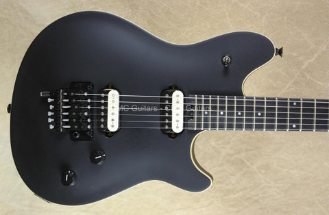 EVH Wolfgang Special Stealth Guitar with FU Tone Upgrades